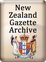 NZ Gazette button