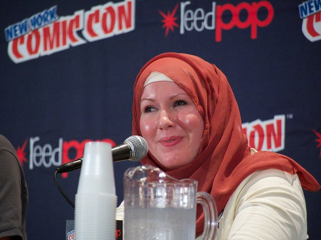 G. Willow Wilson at the 2014 New York Comic-Con